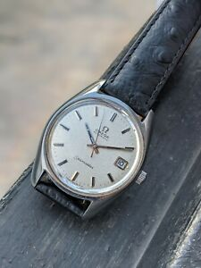 Omega Seamaster Automatic Rare 'Sparkle' Dial 166.067 from 1970 Cal. 565