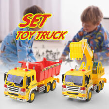 Kids Toy 1/16 Engineering Construction Truck Excavator Digger Vehicle Car Models
