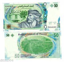 Tunisie TUNISIA Billet 50 DINARS 2011 PNL NOUVEAU NEW UNC NEUF