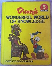 Disney's Wonderful World of Knowledge Volume 5 Caves to Skyscrapers