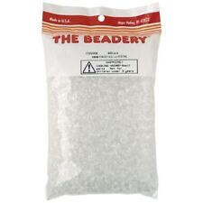 The Beadery 8mm Faceted Bead In Crystal, 900-piece - Beads 900pkgcrystal Plastic