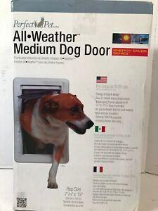 "Perfect Pet The All-Weather Energy Efficient Dog Door Medium 7.25"" x 13"" Flap"