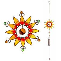 Something Different Chime, Orange - Large Sunflower Windchime x 3 Colours
