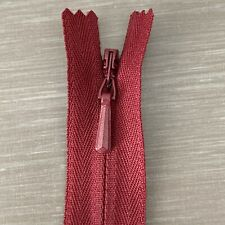 "1x YKK 20cm 7.87/"" INVISIBLE CONCEALED WOVEN ZIP ZIPPER"