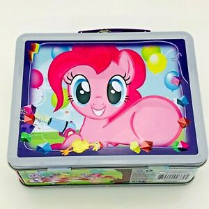 My Little Pony Lunchbox MLP Tin Collectible Box Pinkie Pie Rainbow Dash Twilight