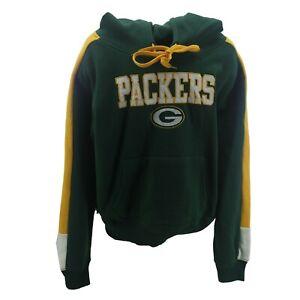 Green Bay Packers NFL Teen Juniors Girls Size Hooded Sweatshirt New No Tag