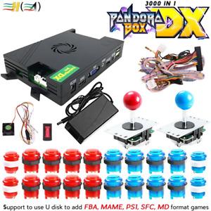 Pandora Box DX Family Version 3000 in 1 3D Arcade Game Board 3P/4P Full Kit