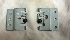Old School Alpine Early 1990's Right & Left Side Lock Pin Brackets