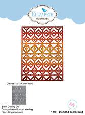 Elizabeth Craft Designs dies Diamond Background (1278) 20% off