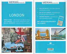 London - WIE NEU - Merian momente - Mit Extra-Karte zum Herausnehmen