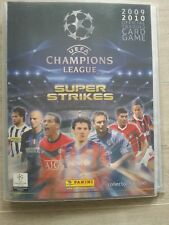 5 carte per scegliere a-PANINI-Champions League - 09/10 - SUPER Strike
