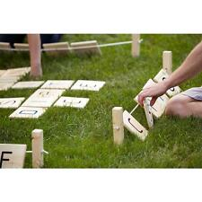 Giant Outdoor Games Word Tiles Party Play Yard Decor Lawn Grid Letters Adult Fun