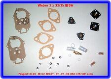 Weber 2x32/35 IBSH, peugeot 104 zs-80 CV; 205 GT-CT-xt-xs