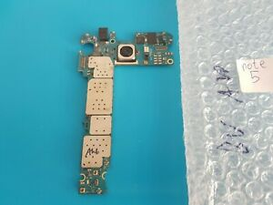 Not powered on Samsung Galaxy note 5 SM-N920C motherboard for parts or repairing