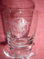 SS UNITED STATES LINES  Insignia Shot Glass  /  Perfect Condition