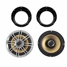 98-2013 Harley Touring Polk Speaker Package with Adapter Ring Installation KIt