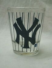 New York Yankees MLB Baseball Shot Glass logo stripes sports team bar ware drink