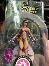 Dc Direct Blackest Night Series 6 Star Sapphire Wonder Woman Action Figure 1064W
