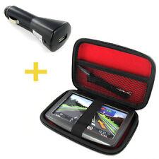 TASCHE/CASE KFZ USB ADAPTER TomTom RIDER 25 Start Go 1015 50 500 5000 600