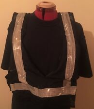 PolyBrite Lighted Safety Vest - High Visibility (Running, Cycling, Horse Riding)