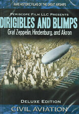 Dirigibles and Blimps Graf Zeppelin Hindenburg Akron Airships DVD