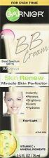 BRAND NEW  Garnier Skin Renew Miracle Skin Perfector BB Cream Fair Light