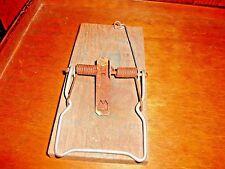 Vintage Four Way  Rat Tray Trap Wood Sheet Metal