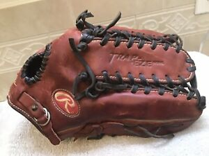 "Rawlings PRO601P 12.75"" HOH Baseball Softball Trapeze Glove Right Hand Throw"