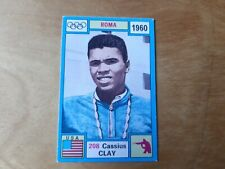 PANINI OLYMPIA 1972 - CASSIUS CLAY (MUHAMMED ALI) . ROMA 1960 - BOXING