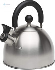 Primula Stewart Whistling Stovetop Tea Kettle Food Grade Stainless Steel, Hot Wa photo