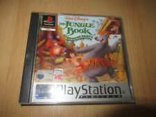 The Jungle Book Groove Fête Sony ps1 comme Neuf Collectors European Version Pal