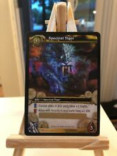 World of Warcraft WOW TCG SPECTRAL TIGER Unscratched Loot Card