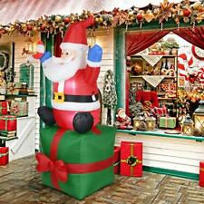 Christmas Santa Claus Inflatable Toy Outdoors Yard Arch Decor Ornament Props UK