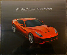 Genuine Ferrari F12 Berlinetta Brochure Hardback In Factory Shrinkwrap