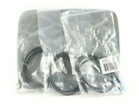 *Lot of 3* 3FT CAT5E Molded Snagless Black Ethernet Patch Cable (AMX)
