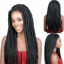 Sexy Women's Lace Front Afro Twist Braided Hair Synthetic Wigs Full Head Wig