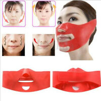 Slim Shaper Chin Anti Wrinkle Strap Band Lift Up Mask Cheek V-Line Face 3D