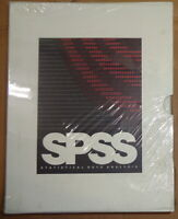 "SPSS - Statistical Data Analysis - for OS/2 - (5.25"" disks). BRAND NEW - SEALED."