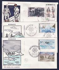 MONACO   enveloppe 1er jour   carrière d'un navigateur   novembre  1977