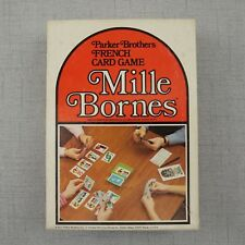 Vintage 1971 Parker Brothers Mille Bornes French Card Game Complete