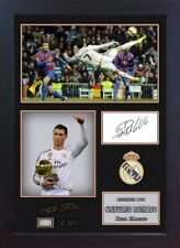 Cristiano Ronaldo Real Madrid signed autograph Football Memorabilia Framed #17