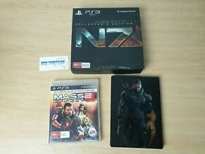 Mass Effect 3 Collector's Edition + Mass Effect 2 - PS3 PlayStation 3 AUS N7