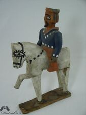 Vintage Folk Art Carving Santiago Matamoros