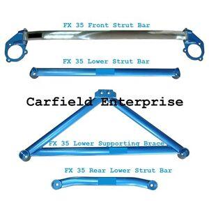 2003-2008 1st FX35 FX45 S50 Infinit SUV Strut Tower Chassis Bar Brace Ladder STB