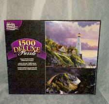1500 Deluxe Puzzle Large Lighthouse Bridge