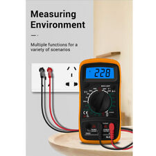 Digital LCD Multimeter Electrical Meter AC/DC Voltmeter Current OHM Multi Tester