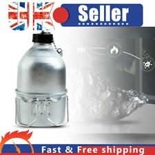 More details for french army stainless steel water bottle + cup set military canteen bottle mug~
