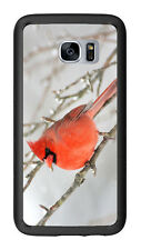 Red Bird Winter For Samsung Galaxy S7 G930 Case Cover by Atomic Market