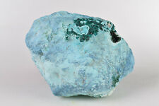 Plancheite ? with Chrysocolla ? from Tantara Mine, Congo  9.3 cm # 8179