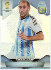 2014 World Cup Prizm Refractor Parallel No.7 P.ZABALETA (ARGENTINA)